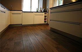 parquet en bois cuisine