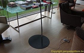 plancher semi-massif salon