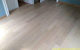 parquet gris clair hall