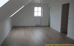 parquet foncé chambre