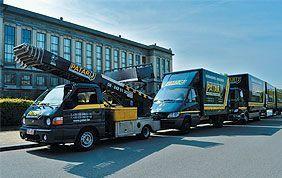 camion lift Patar à Bruxelles