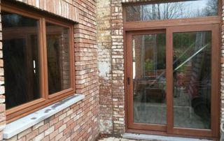 double prte fenêtre et fenêtre en bois