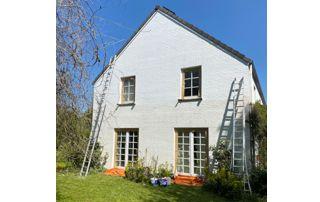 peinture extérieure de façade