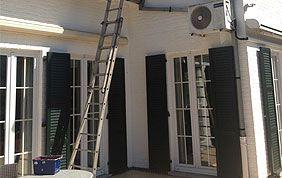 rénovation façade briques peinture