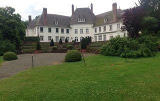 belle villa dans parc