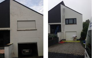 rénovation façade avant après