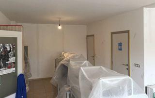 préparation chantier de peinture