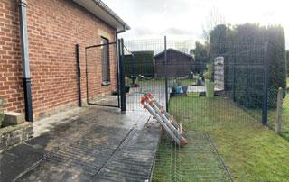 pose de clôture à Waterloo