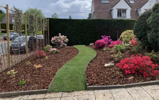 aménagement de jardin en Brabant wallon