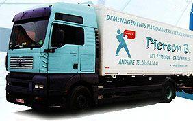 Camion de déménagement Pierson