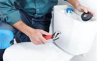 Réparation de chasse d'eau WC