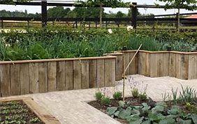 mini clôture en bois