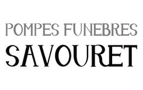 logo pompes funèbres savouret