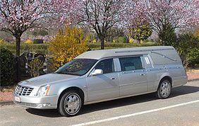 Voiture transport du cercueil