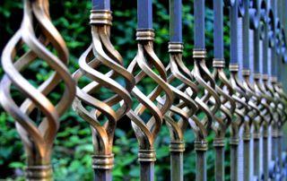 finitions artistiques portail
