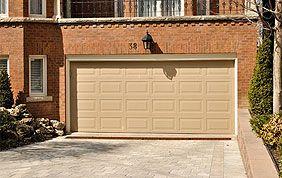 porte sectionnelle de garage