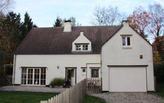 Villa et garage