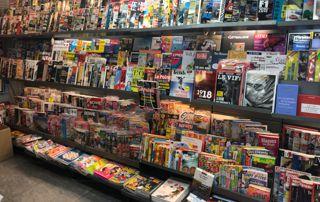 présentoir magazines et journaux