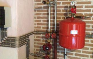 installation chaudière et boiler Ariston