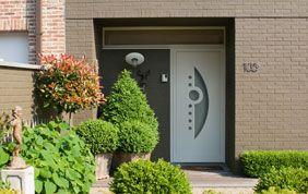 Porte d'entrée habitation