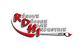 Logo entreprise de peinture RDHI