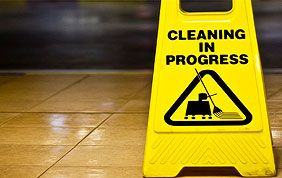 panneau de prévention de sol mouillé
