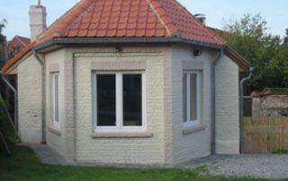 rénovation de châssis et façade