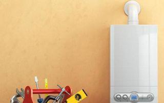 Chaudière système chauffage caisse à outils