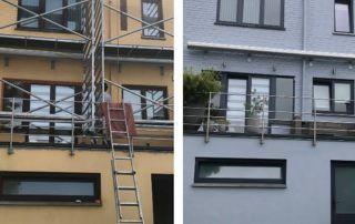 remise à neuf peinture façade