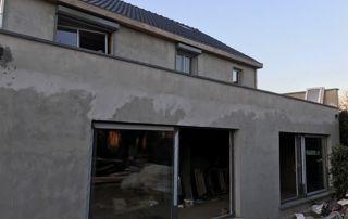 Installation de châssis nouvelle construction