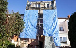 rénovation façade uccle