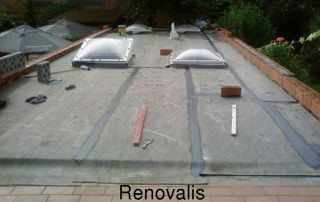 construction toiture plate