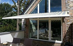 toile solaire de terrasse