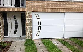 porte d'entrée et de garage PVC