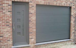 portes de garage sectionnelles basculantes bruxelles
