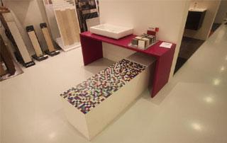 mosaïque pour salle de bain