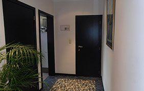 peinture murs couloir