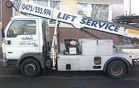 camion de lift