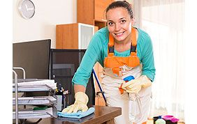 Dépoussièrage et entretien de mobilier de bureau