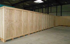 entreposage boxes en bois