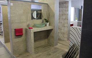 showroom carrelages de salle de bain