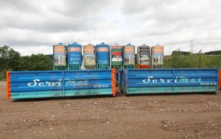 location de containers pour déchets