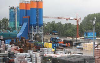 centrale a béton et matériaux construction