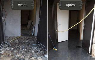 rénovation intérieure avant/après