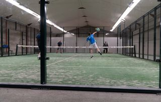 Match de tennis en tournoi