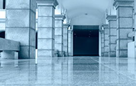 hall d'entrée avec revêtement de sol en marbre