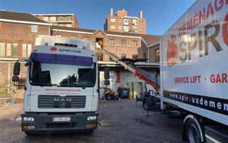 déménagement industriel à Liège