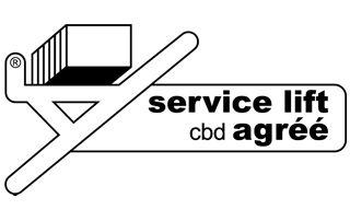 logo service lift agréé CBD