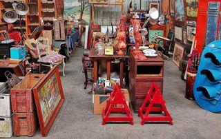 Exposition et vente d'objets anciens