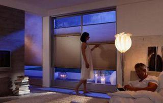 stores tamisants chambre à coucher